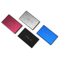 SATA I II III USB 3 0 Metal SSD HDD Enclosure Free Shipping 2 5 Hard