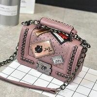 Vintage Diamond Lattice Handbags Hotsale Women Evening Clutch Ladies Party Chain Famous Brand Shoulder Messenger Crossbody