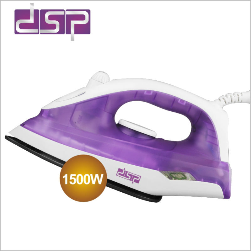 DSP Mini steam iron easy to carry for travel Electric iron Powerful iron 1500w 220-240v 50Hz travel steamer Clothes iron clothes iron