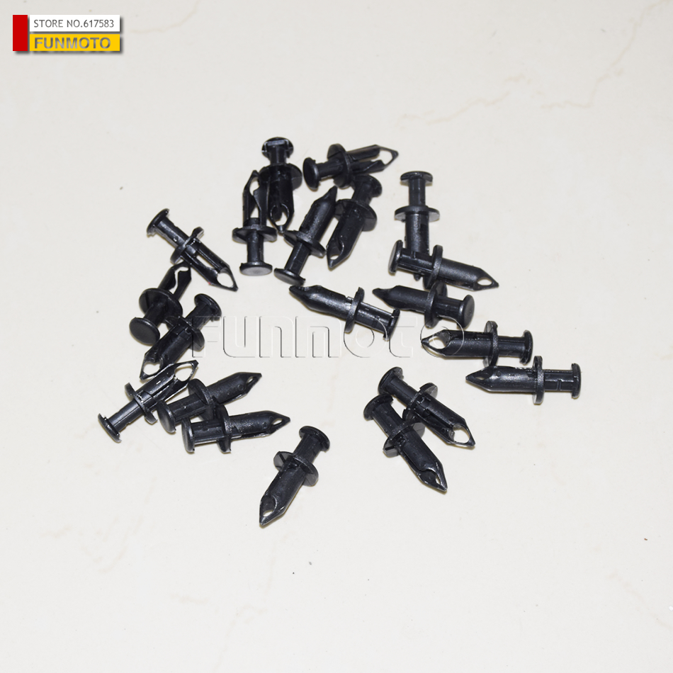 18 pcs plastic rivets suit for CFMOTO /CF500/CF600 parts code is 9060 040310