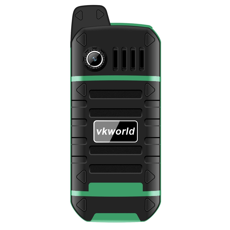 4000mAh Battry VKWorld Stone V3 Plus Mobile Phone 2.4 inch IP54 Waterproof Elder Man FM Radio Dual SIM GSM   CellPhones