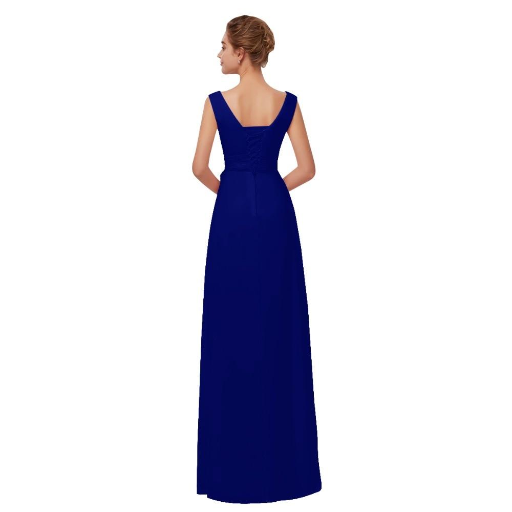 Beleza emily borgonha chiffon vestidos de dama