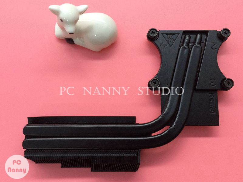 C61N1 0C61N1 AT0UJ0050C0 Original for DELL ALIENWAR M17X R5 Heatsink Assembly Radiator Cooler