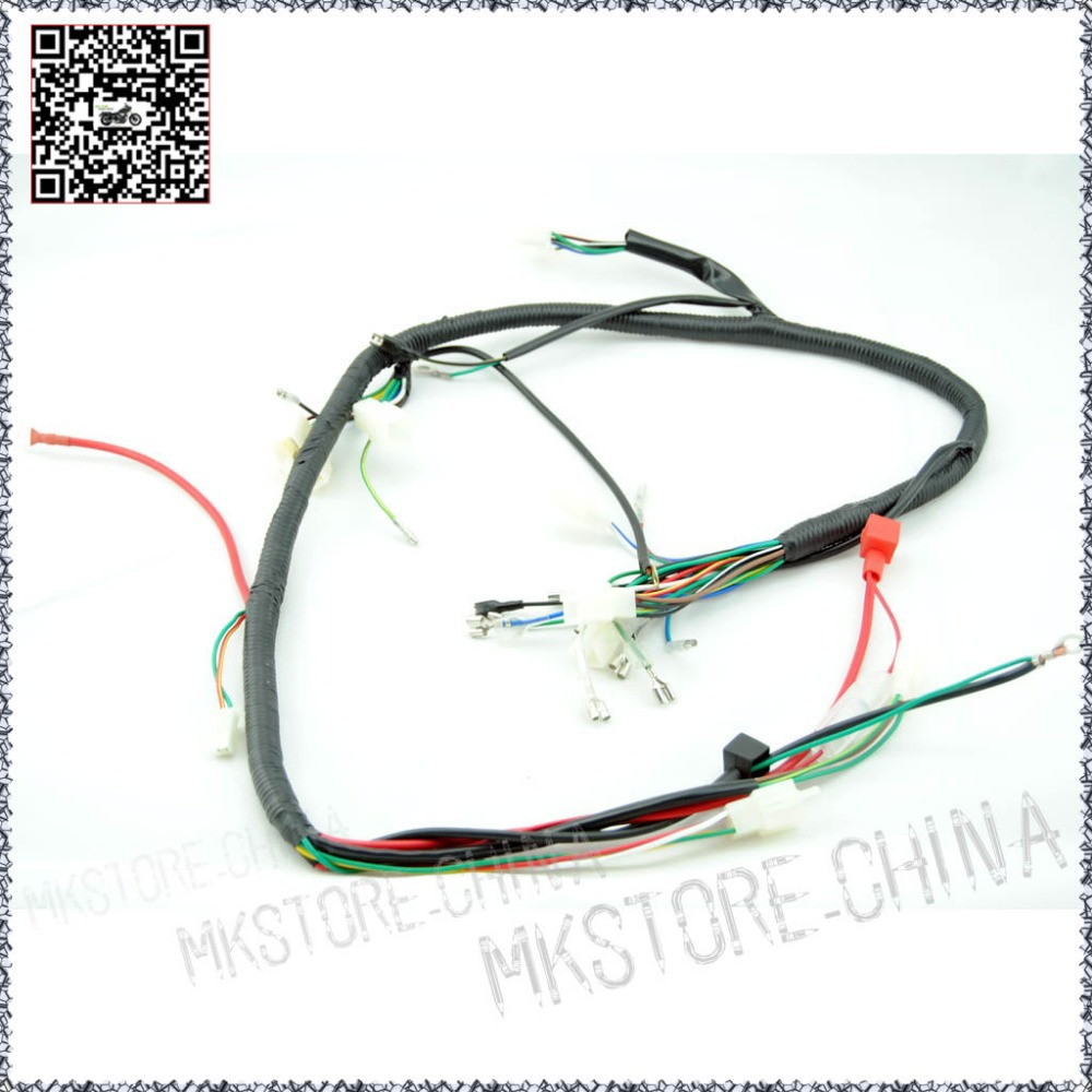 QUAD WIRING HARNESS 200 250cc Chinese Electric start Loncin zongshen ducar Lifan free shipping dinli 90cc atv wiring diagram kawasaki 90cc atv wiring diagram dinli 90cc wiring diagram at n-0.co