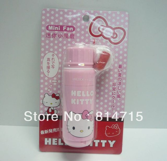 Lovely Kitty Handheld Portable Fans Mini Fans Free Shipping