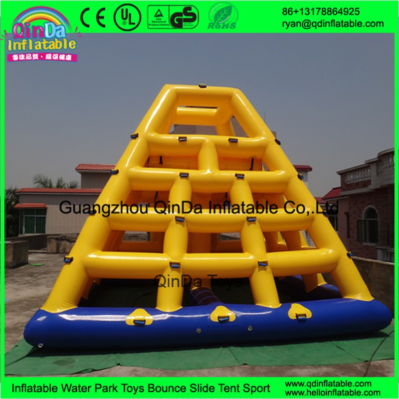 inflatable floating water slide08
