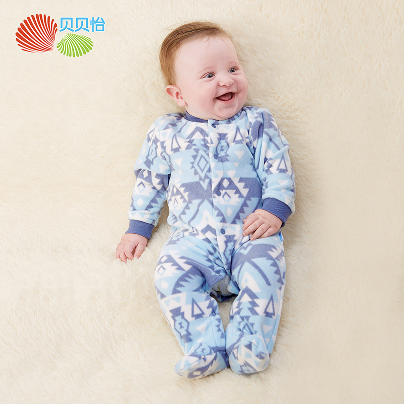 Newborn Baby Rompers Winter Long Sleeve Baby One-pieces overall 2017 New Winter Baby Boy Girl coverall jumpsuit clothes171L094A boy girl rompers autumn baby cotton one pcs rompers baby long sleeve jumpsuit bebe coverall baby pajamas