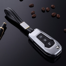 folding car remote key case for Ford F-150 F-250 F-350 Explorer Ranger  Waterproof case for car key Silicone case for car key