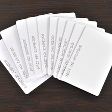 Free Shipping 50pcs/lot 125KHZ EM4100 RFID Card EM ID CARD TK4100 Reaction ID Card for Access Control Attendance