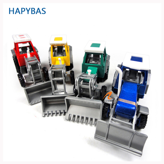 Promotion! Alloy Glide farmer engineering van car educational toys tractor scale models childrens toy