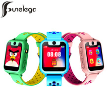 Funelego 2019 Smart Watch Kid Smartwatch Baby for Children SOS Call Location Locator Tracker For Apple iPhone Phone