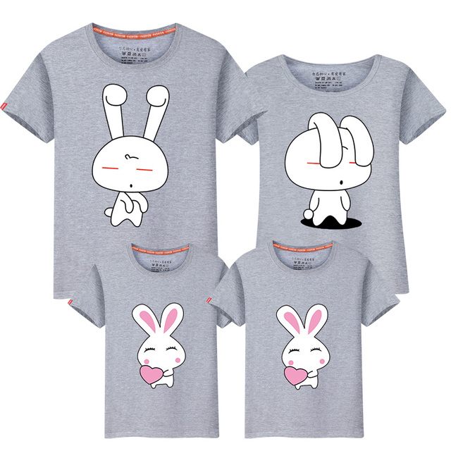 3c7b594a70 Hot family tshirts mom dad baby family look clothes soft cotton summer t  shirt short sleeve mom and me family matching tops