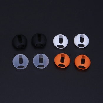 2 Pairs Ultra-thin Silicone Eartips For Apple Airpods