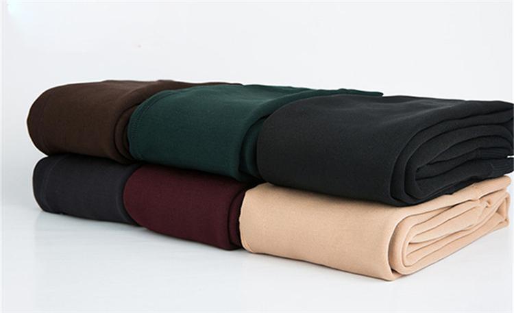 CHLEISURE Winter Warm Leggings Women High Waist Thick Velvet Legging Fashion Solid Large Size Autumn Leggings S-XL 8 Colors 21