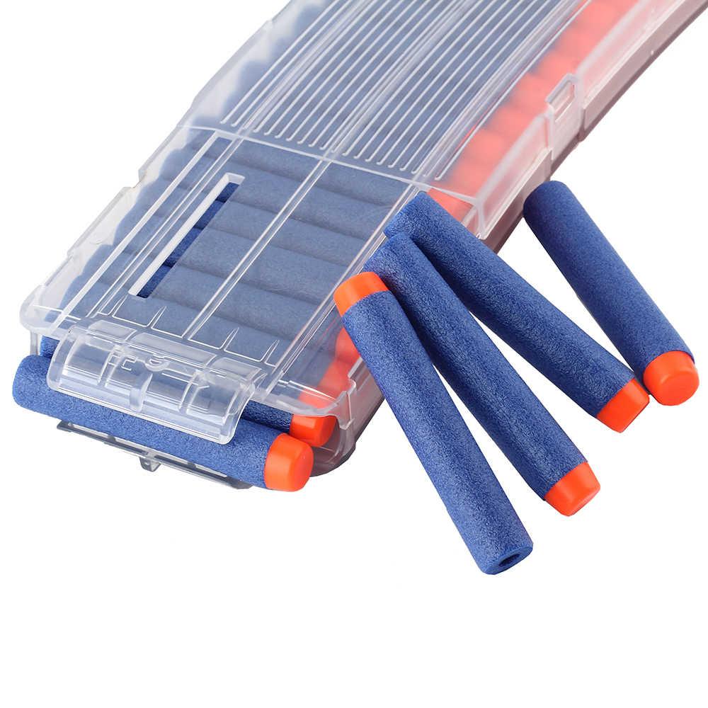 Viciviya новейший 12 перезагрузки клип журналов круглые Дартс Замена пластиковые журналы игрушечный пистолет обойма для мягких пуль для Nerf магазины для оружия