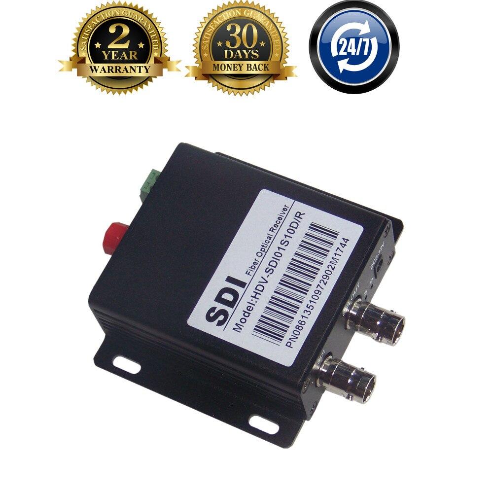 New HD SDI Coaxial Fiber Optic Converter With RS485 Control 20km BNC SDI Fibra Optical Video Transmitter Receiver Over FC Fiber