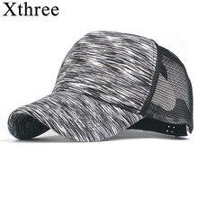 Xthree barato Gorras de béisbol hombres sombrero de verano gorra Casquette  sombrero para las mujeres Gorras cccfc09acd8