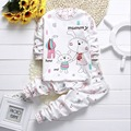 Spring new Baby's Sets cotton Baby Clothing Long sleeved cotton Baby's Sets two piece (shirt + trousers) baby baby girl Sets