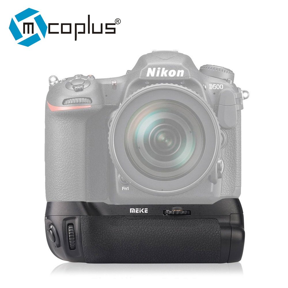 Mcoplus BG-D500 Professional Battery Grip for Nikon D500 works with EN-EL15 Battery & AA Battery as Nikon MB-D17 mb d12 replacement battery grip for nikon d800 d800e black