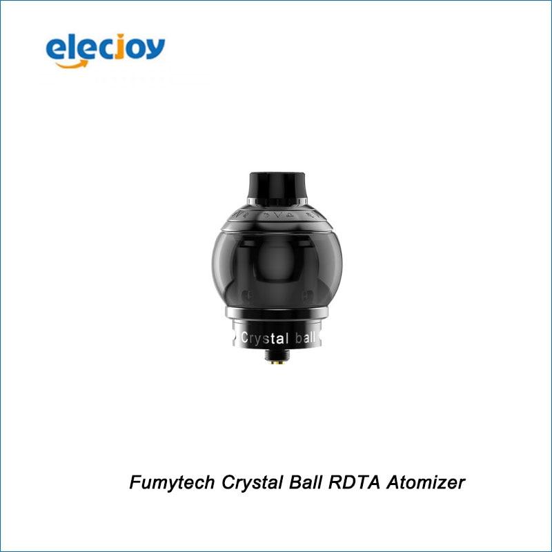 ФОТО New 100% Original Fumytech Crystal Ball RDTA  atomizer Electronic cigarettes Black  - In Stock