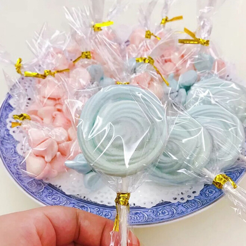Strong-Willed 100pcs Clear Sweets Cookies Lollipops Cake Cellophane Bags Plastic New Year Wedding Birthday Party Bag Stationery Holder Clients First Stationery Holder