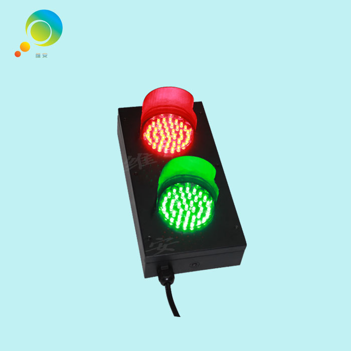 High Quality Cold-rolled Plate Mini LED Traffic Signal Light 82mm Lamp Red Green Traffic Light Sale