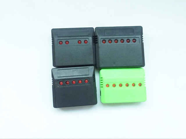 1pcs 3.7V Lipo Battery Adapter Charger USB Interface 4 in 1 / 5 in 1 / 6 in 1 for Syma X5 X5C X5C-1 H107 H107C JJRC H8 Wholesale