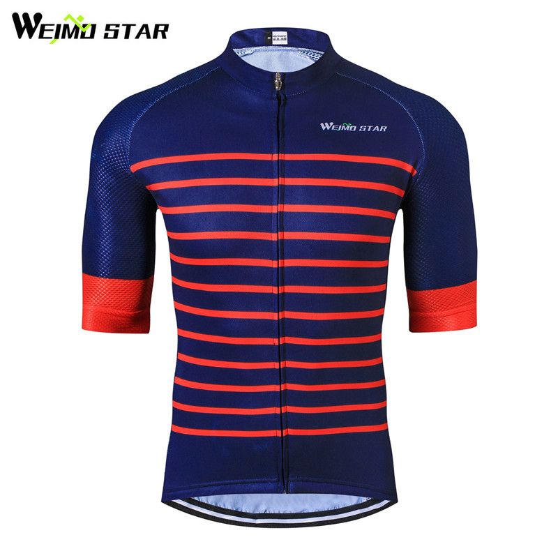 Weimostar Pro Team Men's Half Sleeve Cycling Jersey Top mtb Bike Jersey Bicycle Shirt Breathable Cycling Clothing Ropa Cilcismo