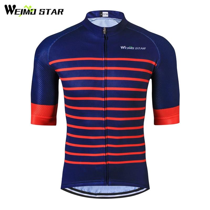 Weimostar Pro Team Jersey de ciclismo de media manga para hombre Top - Ciclismo - foto 1