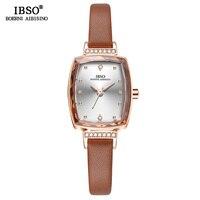 IBSO Brand Rectangular Women Wrist Watches Relogio Feminino Female Luxury Ladies Quartz Watch Women Fashion Montre Femme 2019