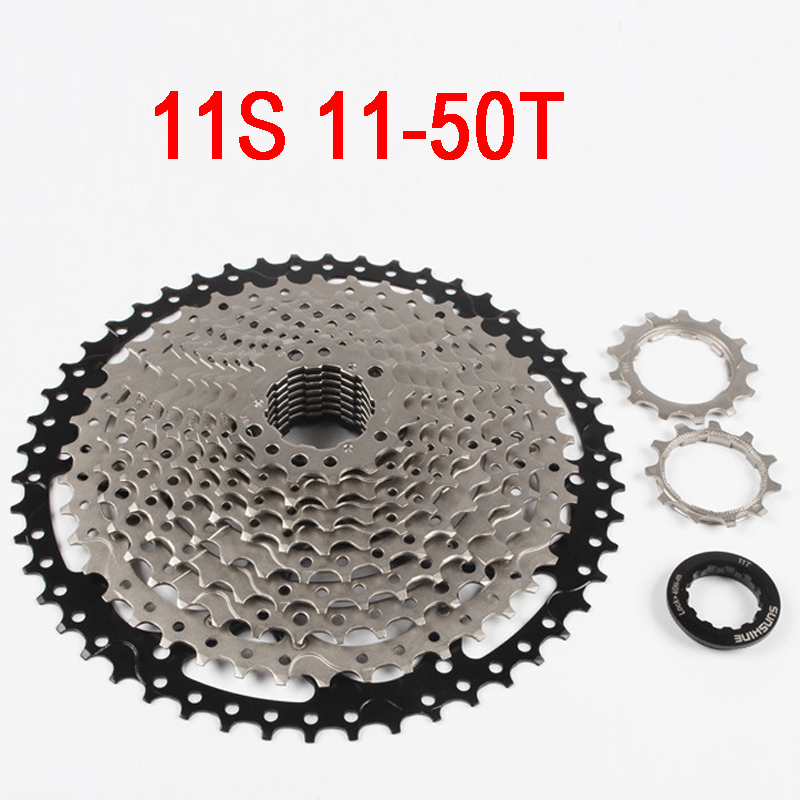 11-50T 11 Speed MTB Bike Cassette Mountain Bicycle Freewheel Wide Ratio bicycle freewheel west biking bike chain wheel 39 53t bicycle crank 170 175mm fit speed 9 mtb road bike cycling bicycle crank
