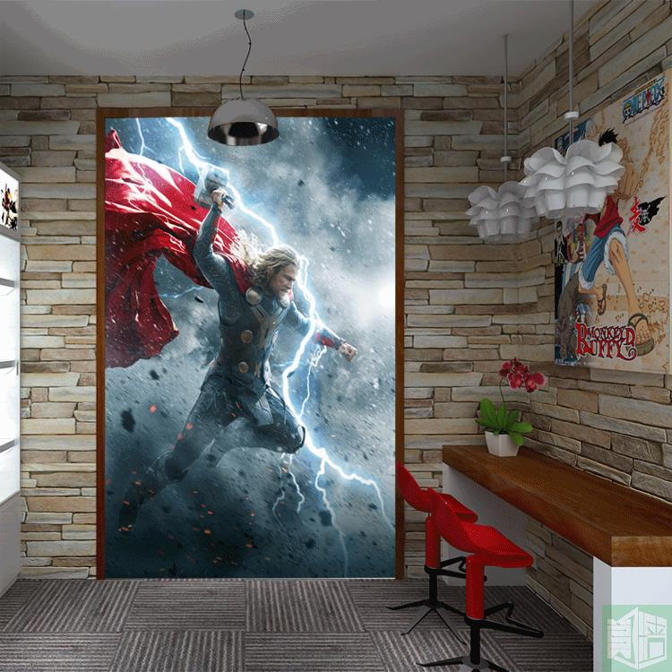 Online get cheap marvel wallpaper for Chinese movie mural