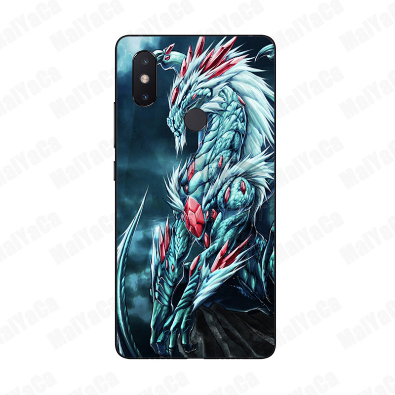 new styles 627eb 3cd4c US $0.86 13% OFF MaiYaCa Blue red dragon Unique Design High Quality phone  case for Xiaomi Mi 6 Note2 Note3 8 8SE MIX2 Redmi 5 5Plus Note5 Note4-in ...