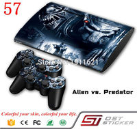 OSTSTICKER OSTSTICKER For Ps3 Fat skin Slim Game Decal Skin Stickers For Playstation 3 Console 2Pcs Stickers For PS3 Controller