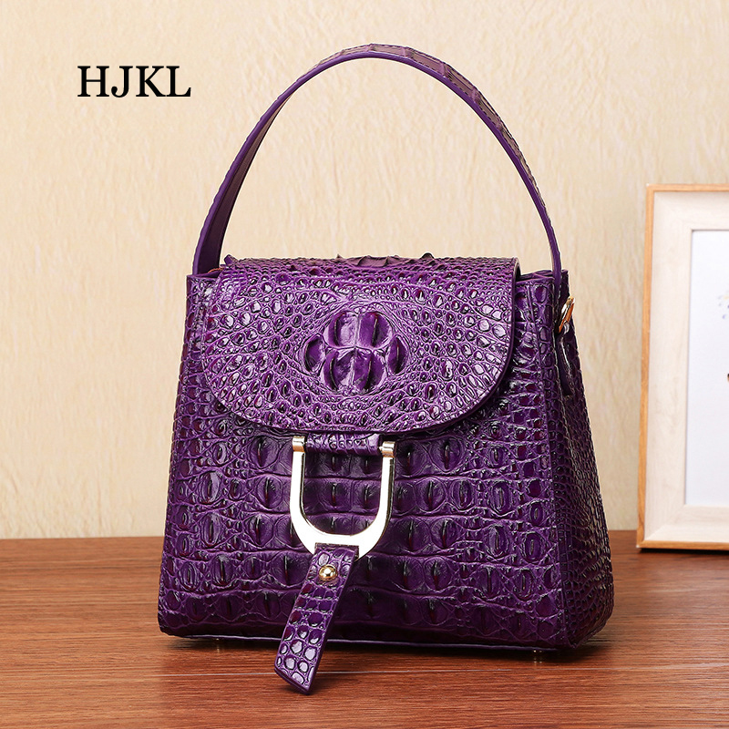 Black Hjkl Geprägte Leder Weiblichen Crossbody blue Dame Kuh purple Tasche Handtasche Frauen Einzelnen tasche Echt Schulter red FFrAO