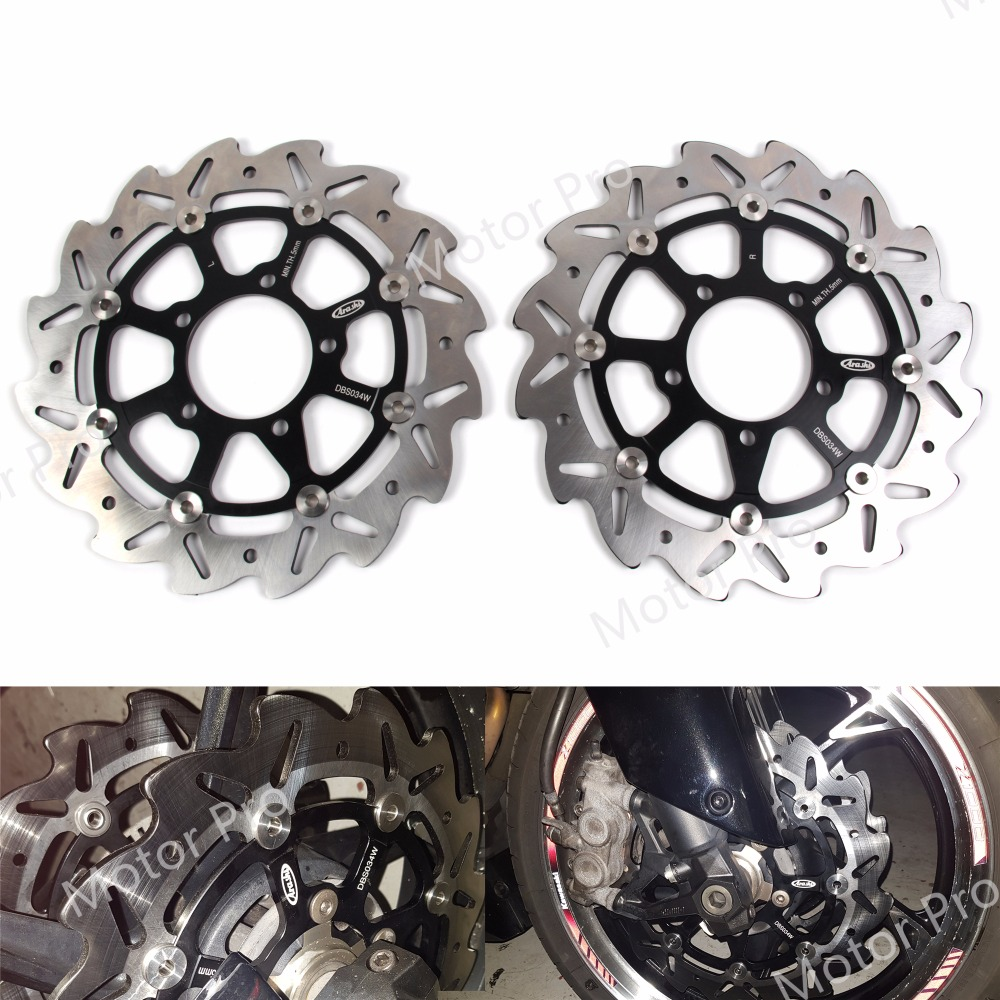 For Kawasaki Versys 1000 2012 2014 Front Brake Disc Disk Rotor Motorcycle Replacement Accessories Versys1000 2013