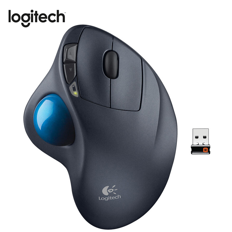 Logitech M570 Wireless Mouse with 2.4GHz 1000DPI Optical Trackball Ergonomic Mouse for Mouse Gamer for Windos 10/8/7 Mac OS