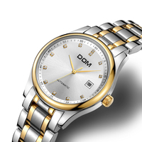 Women Fashion Watches mechanical woman watch top brand luxury waterproof stainless steel women crystal watches Relogio Feminino