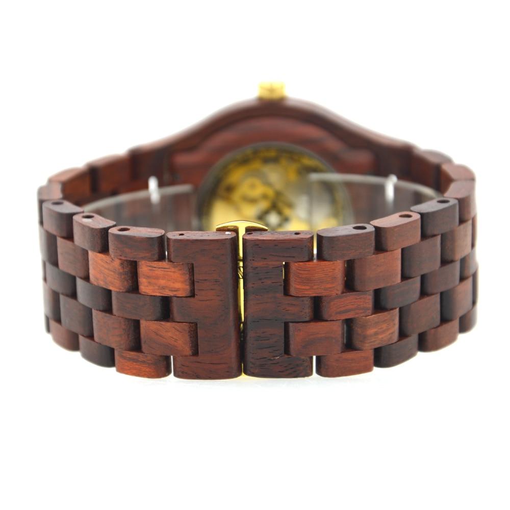 BEWELL Automatyczne zegarki mechaniczne Najlepsze marki Luksusowe - Męskie zegarki - Zdjęcie 4