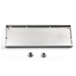 Image 5 - Idobo 75 Keys Ortholinear Layout QMK Anodized Aluminum Case Plate hot swappable Hot Swap Type C PCB Mechanical Keyboard Kit