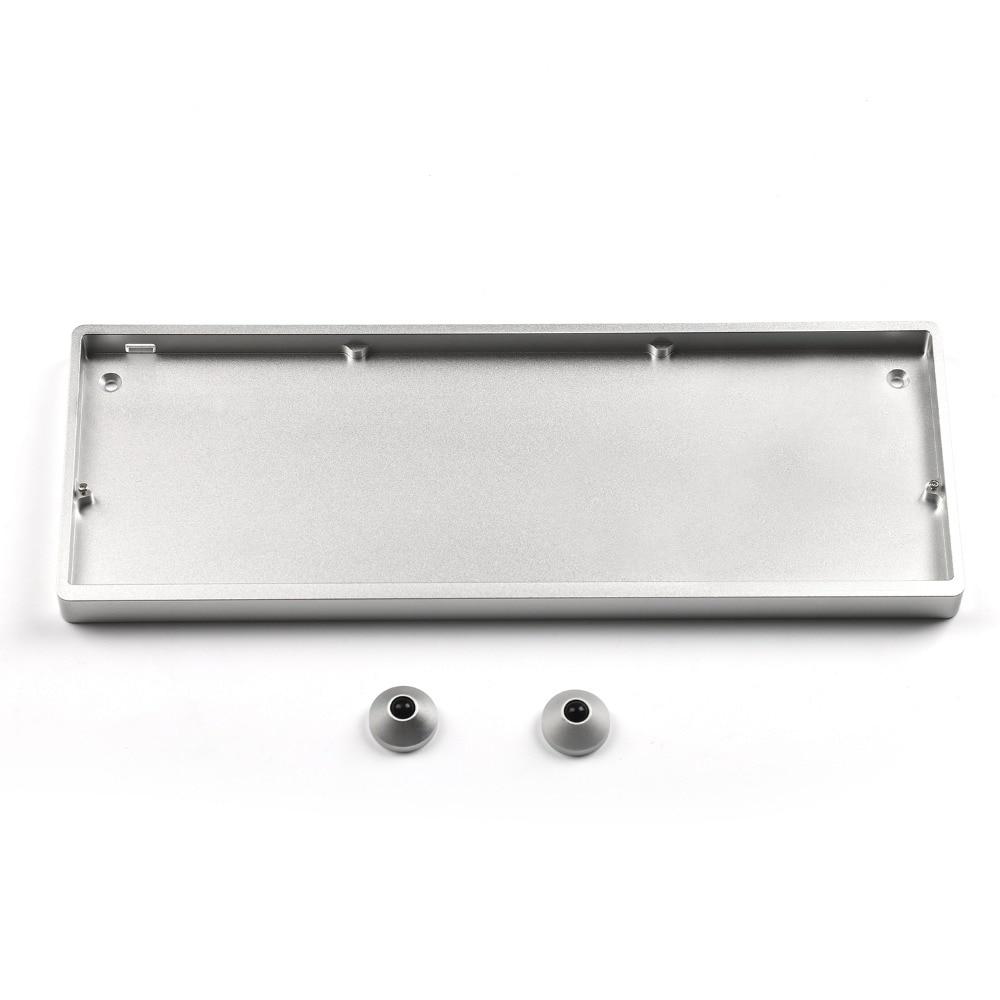 Image 5 - Placa de aluminio anodizado Idobo con diseño ortopédico de 75 teclas QMK intercambiable en caliente tipo C PCB Kit de teclado mecánicoTeclados   -