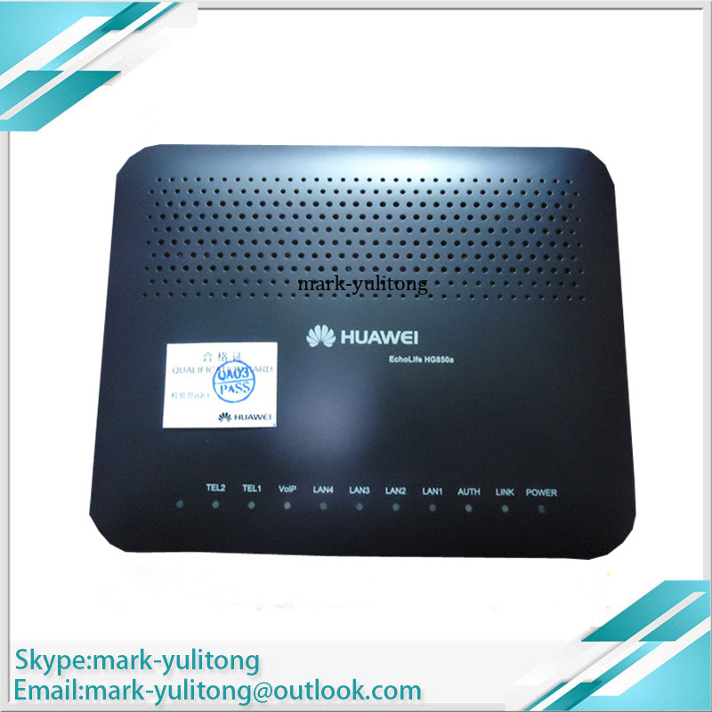 Industrious Brand New Authentic Guaranteed Hua Wei Ftth Gpon Onu Hg850a Modem 4lan Port 2 Voice English Firmware Cellphones & Telecommunications