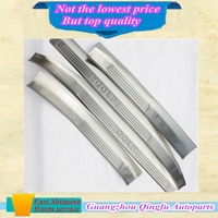 Built Pedal Cover Threshold Stainless Steel Door Sill Scuff Plate 4pcs Welcome For Volkswagen GOLF 7