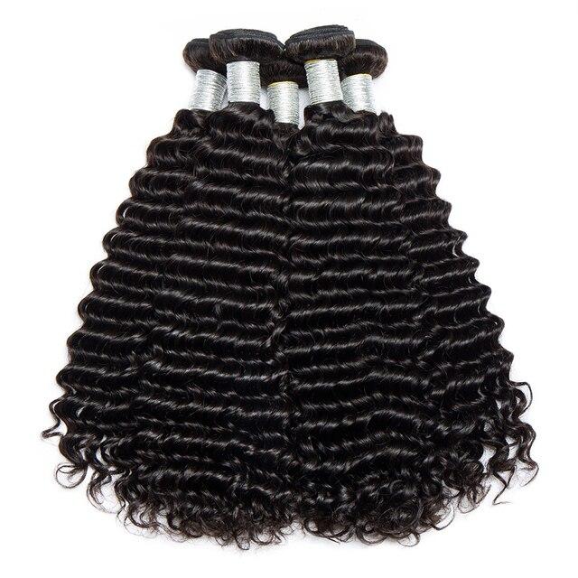 Aliexpress buy alibele raw indian deep curly hair weave alibele raw indian deep curly hair weave bundles natural color black human hair weave bundle 10 pmusecretfo Gallery