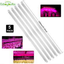 Led Grow Light Phytolamp Growbox Tent Lamp Aquarium T8 Tube Bar Phyto Full Spectrum For Indoor Plants Seeds Flower 5pcs