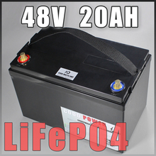 LiFePO4 48V 20AH Battery Deep cyclic waterproof IP68