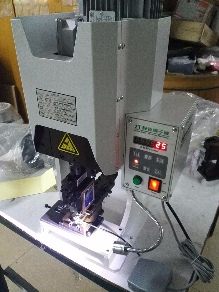 Ultra-quiet Terminal Machine Wiring Terminal Bending Machine Super Mute Terminal Machine Terminal Crimping Machine YF-2T
