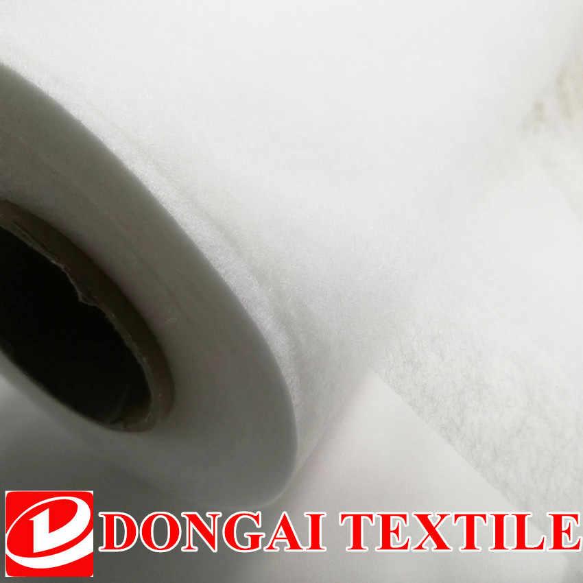 Szeroki 112cm * 100CM dwustronnie klejąca tkanina DIY akcesoria tkanina Patchwork podszewka materiałowa trzeba użyć żelazko elektryczne