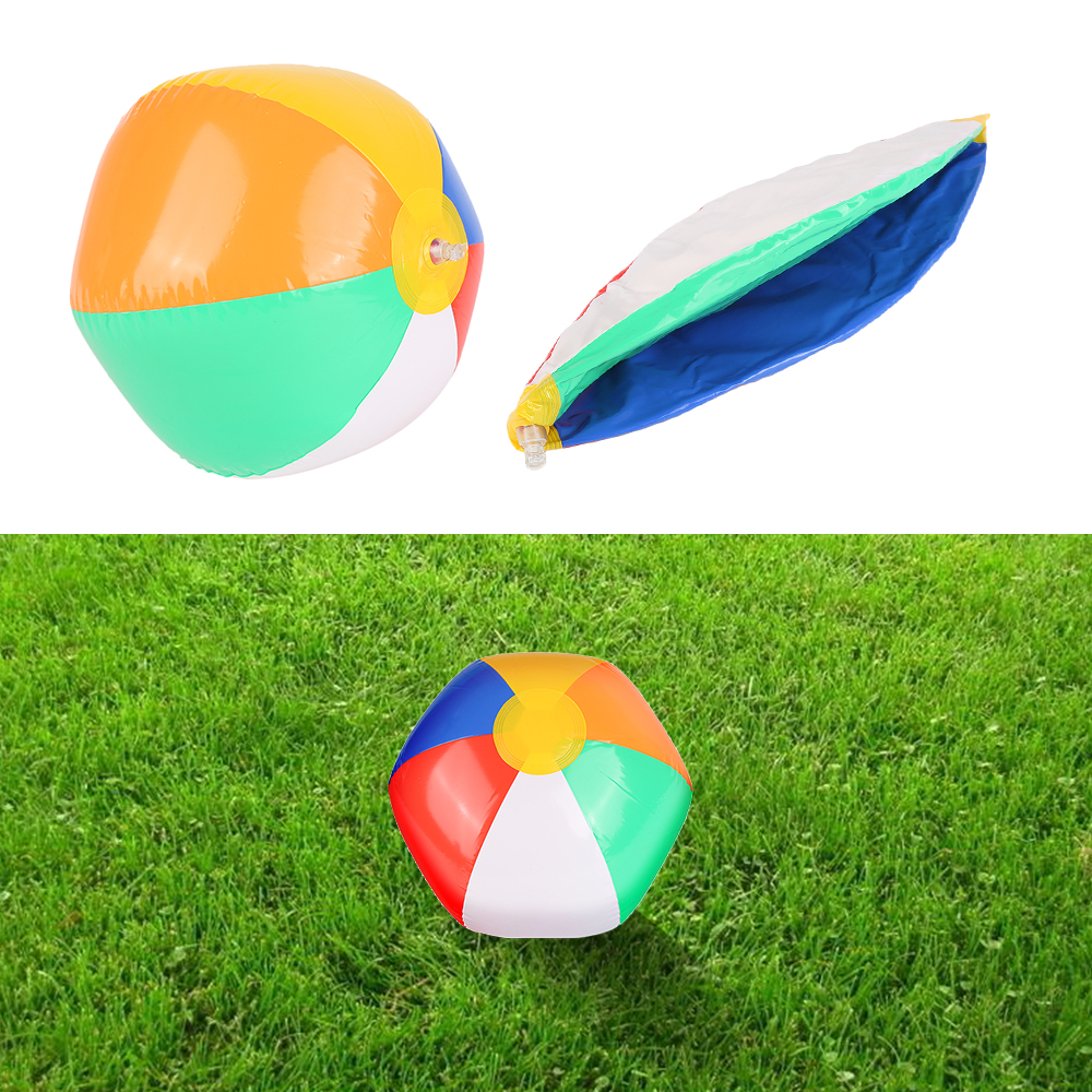 1PCS New Colorful Baby Kids Learning Beach Pool Play Ball Inflatable Children Rubber Educational Soft Toys