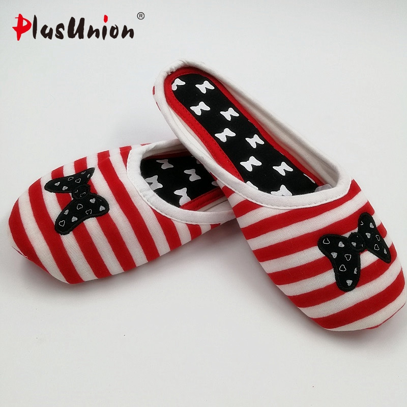 butterfly indoor slippers striped cotton home winter embroider for women furry slipper adult house black red shoes adult plush winter slippers indoor animal emoji furry house home with fur flip flops women fluffy rihanna slides fenty shoes